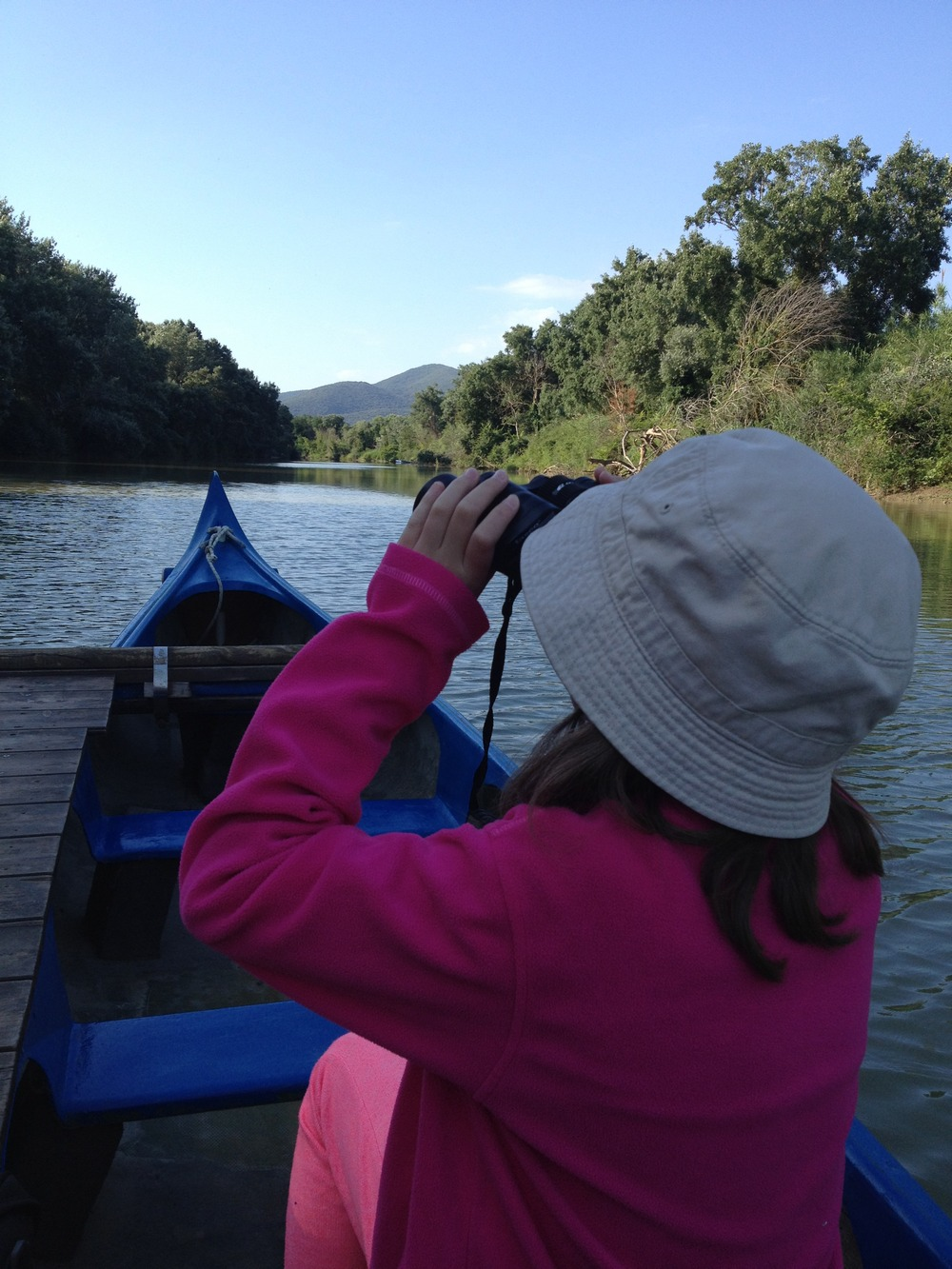 birdwatching canoa
